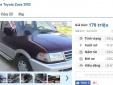 Những chiếc ô tô Toyota cũ này đang rao bán tầm giá 200 triệu tại Việt Nam
