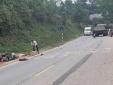 Tuyên Quang: Xe máy 'đối đầu' xe tải, một người tử vong
