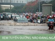Hà Nội ứng dụng công nghệ cảnh báo ngập lụt trên điện thoại