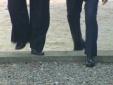 Cận cảnh bước chân ông Kim Jong-un đi qua ranh giới hai miền Triều Tiên