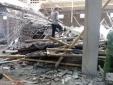 Nam Định: Sập giàn giáo xây dựng, ít nhất 2 người thương vong