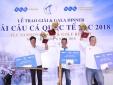 330 cần thủ câu được hơn 4 tấn cá tại giải đấu ở Thanh Hóa