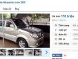 Những chiếc ô tô cũ này đang rao bán giá dưới 200 triệu tại Việt Nam