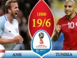 Xem trực tiếp bóng đá World Cup 2018 Anh vs Tunisia ở đâu tốt nhất?