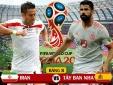 Truyền hình trực tiếp World Cup 2018 trận Iran và Tây Ban Nha hãy chọn kênh có bản quyền