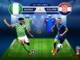 Trực tiếp bóng đá World Cup 2018 Nigeria vs Iceland bảng D lúc 22h00 ngày 22/6