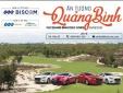 'Ấn tượng Quảng Bình'  - Giải golf chào mừng Hội nghị xúc tiến đầu tư Quảng Bình 2018