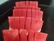 Dưa hấu không hạt đỏ au giá 30 nghìn đồng/kg hút khách Hà thành