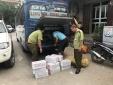 Củ cải muối, bánh ngọt Trung Quốc nhập lậu về bán lẻ tại Việt Nam