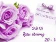 Lời chúc 20/10 dành cho người phụ nữ Việt Nam 'chuẩn chất nhất'