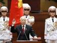 Tổng Bí thư, Chủ tịch nước Nguyễn Phú Trọng tuyên thệ