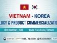Sắp diễn ra Diễn đàn thương mại Việt - Hàn, lĩnh vực phụ tùng và thiết bị thông minh