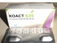Thuốc KOACT 625 chống nhiễm khuẩn không đạt chất lượng, doanh nghiệp bị xử phạt