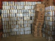 Hàng loạt sản phẩm tẩy rửa không hóa đơn chứng từ bị tóm, trị giá ước tính hơn 380 triệu đồng