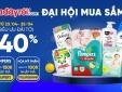 Đại hội mua sắm P&G siêu 'hot', ưu đãi tới 40% trên Adayroi