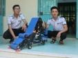 Sáng chế mày thu gom nông sản thông minh của học trò Ninh Thuận