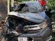 Honda CR-V phát nổ, cháy xém dưới trời nắng nóng: Lãnh đạo Honda Việt Nam nói gì?