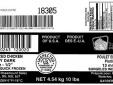 Thịt gà chín xắt miếng của Rosemount bị thu hồi vì vi khuẩn Listeria monocytogenes