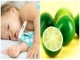Vắt nước cốt chanh vào miệng cho trẻ khi bị sốt co giật, bác sĩ cảnh báo gì?