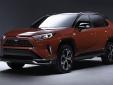 Cận cảnh Toyota RAV4 2021 bản chạy điện vừa lộ diện chính thức