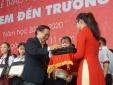 Chắp cánh ước mơ đến trường cho 400 học sinh tỉnh Đồng Nai