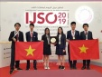 Việt Nam giành 3 HCV tại Kỳ thi Olympic Khoa học trẻ quốc tế