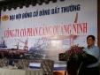 Cảng Quảng Ninh bị phạt do không đăng kí giao dịch chứng khoán
