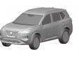 Lộ hình ảnh bản thiết kế Nissan X-Trail hoàn toàn mới