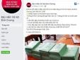 Cảnh báo mạo danh tài khoản facebook cơ quan BHXH thu gom sổ BHXH trục lợi