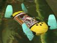 Khám phá robot có hình dạng rùa biển giúp theo dõi trại nuôi cá
