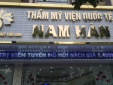 Hà Nội: Thẩm mỹ viện Quốc tế Nam Hàn ngang nhiên quảng cáo, sử dụng dịch vụ làm đẹp trái phép