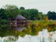 Ngắm bình minh đẹp tựa tranh vẽ tại khu đô thị xanh Ecopark