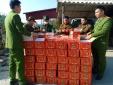 Nhập lậu hàng hóa: Tập kết lượng lớn hồng quả sấy dẻo Trung Quốc chờ tiêu thụ dịp Tết