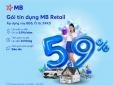 MB tung gói lãi suất đồng hành cùng khách hàng vượt qua khó khăn