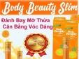 """Giảm cân Body Beauty Slim quảng cáo thổi phồng công dụng, người dùng coi chừng """"sập bẫy"""""""
