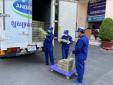 Vinamilk và công ty con tại Campuchia hỗ trợ sữa cho người dân nước bạn chống Covid-19