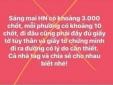 Hà Nội xử phạt 12,5 triệu đồng cá nhân thông tin sai sự thật về phòng dịch