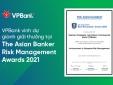 VPBank lần thứ hai liên tiếp nhận giải thưởng quản trị rủi ro danh giá cấp châu lục
