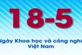 CHÀO MỪNG NGÀY KH&CN VIỆT NAM VÀ 60 NĂM THÀNH LẬP NGÀNH KH&CN