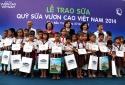 Vinamilk: Vinamilk dành 8 tỷ đồng cho Quỹ sữa 'Vươn Cao Việt Nam'