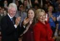 Đi diễn thuyết, ông bà Clinton bỏ túi 153 triệu USD
