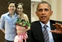 Bạn trai đại gia của Hoa hậu Thu Thảo bị 'hớ' khi hỏi ông Obama?