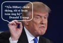 Trump và Clinton tranh luận trực tiếp: Những phát ngôn đáng nhớ