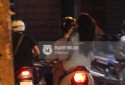 Midu phân trần việc không đội mũ bảo hiểm khi đi xe máy