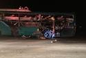 Tin mới vụ nổ xe khách tại Bắc Ninh, ít nhất 2 người thiệt mạng