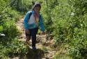Vượt khuyết tật bé gái K'ho 8 năm đến trường bằng đôi chân của bố
