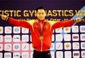 Lê Thanh Tùng xuất sắc đoạt HC vàng Cúp Thể dục dụng cụ thế giới