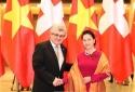 Chủ tịch Quốc hội hội đàm với Chủ tịch Hội đồng Nhà nước Thụy Sĩ
