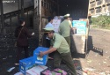 Bình Phước: Bắt giữ gần 600kg trái cây không rõ nguồn gốc