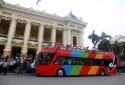 Trước Tết Nguyên đán 2018: Hà Nội thí điểm xe buýt du lịch 2 tầng